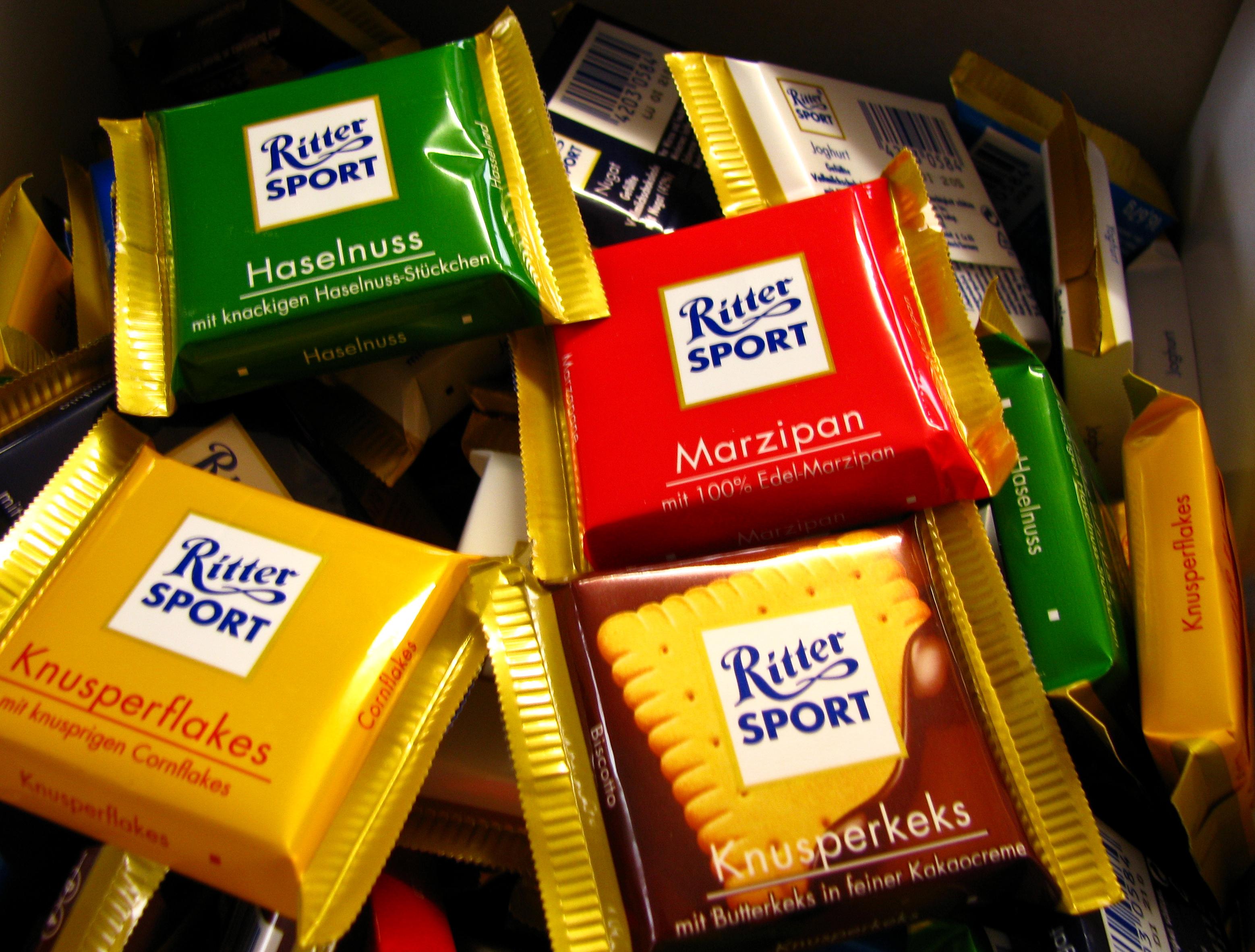 Ritter Sport Mini SprГјche